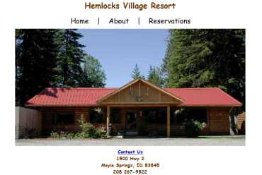 Hemlocks Village Resort